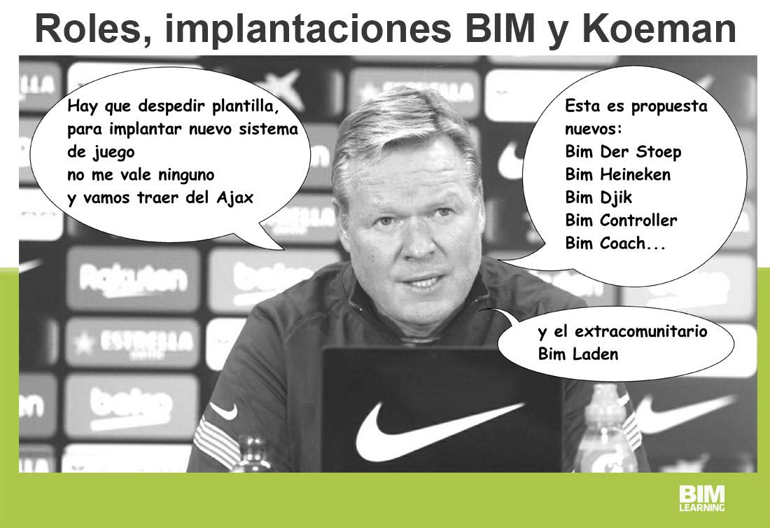 Roles, implantaciones BIM y Koeman