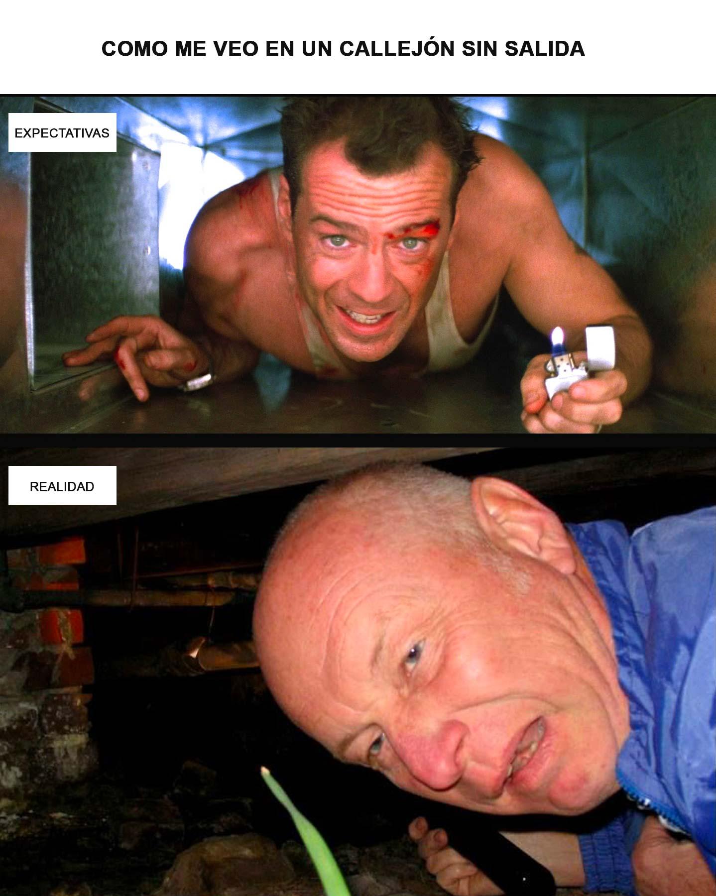 AIR, clearances y Bruce Willis