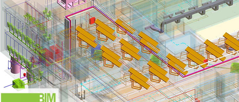 Modelado-arquitectura-instalaciones-Biblioteca-uso-Municipal-Castilla-Leon
