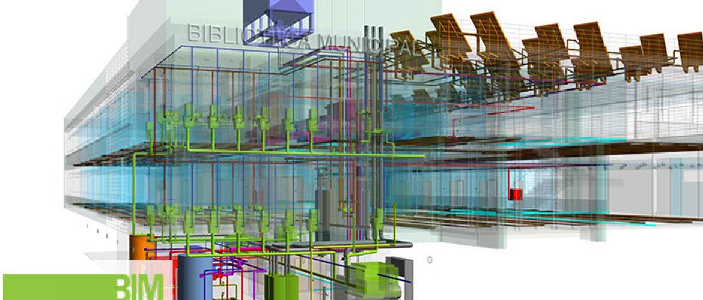 Modelado-de-arquitectura-e-instalaciones-de-Biblioteca-de-uso-Municipal-en-Castilla-Leon.