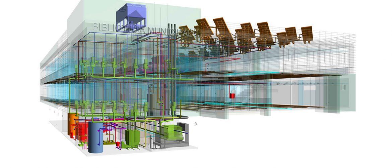 Instalaciones Centro Valladolid – Revit