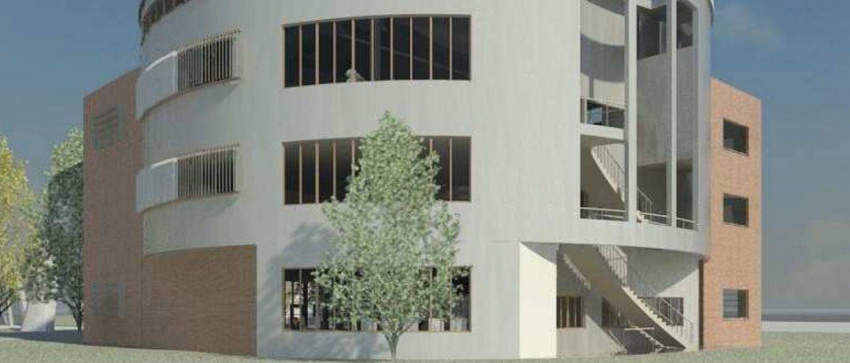 Propuesta arquitectonica biblioteca universitaria Méntrida