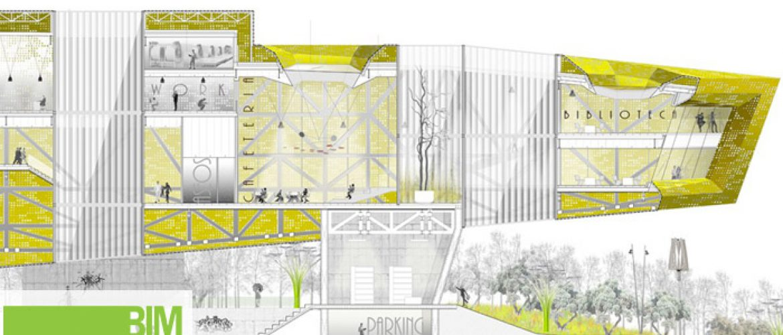 Propuesta Modelado Bim Centro Cívico Toledo Revit structure